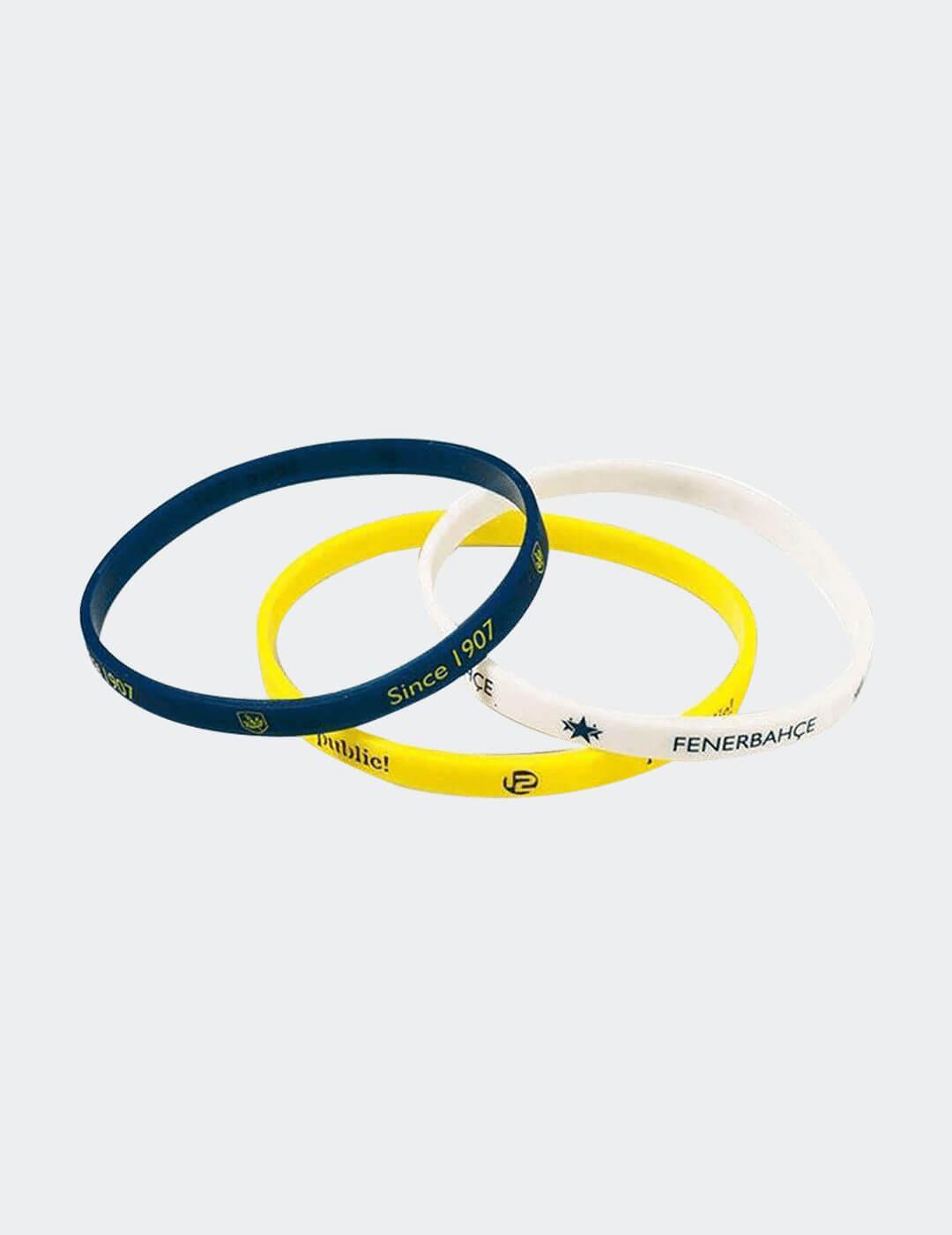 Sarı Lacivert Beyaz Fenerbahçe İnce Bileklik
