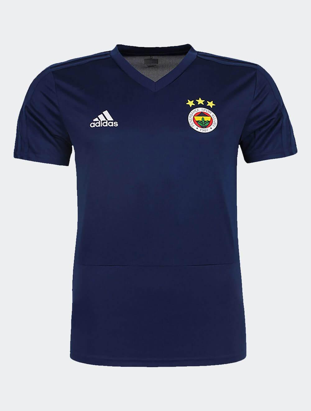 Çocuk Lacivert 18/19 Futbolcu Antrenman T-Shirt