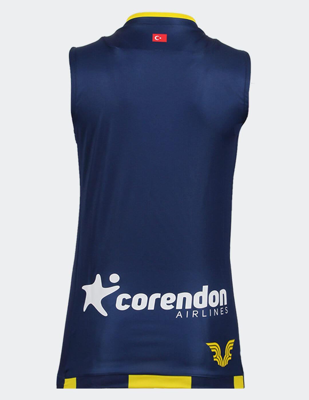 Kadın Çubuklu Fenerbahçe Voleybol Maç Forması