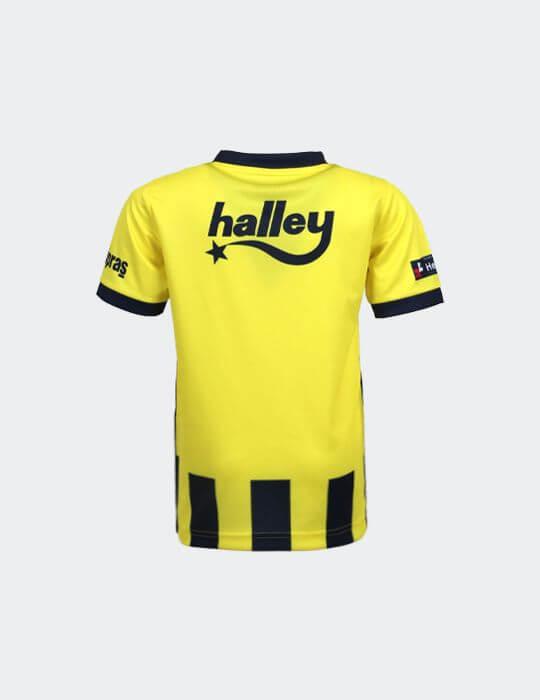 Çocuk Sarı Lacivert Fenerbahçe 2020/21 Çubuklu Jr Taraftar Forma