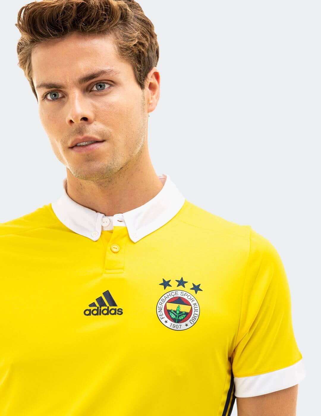 Erkek Sarı Fenerbahçe 17 Maç Forması