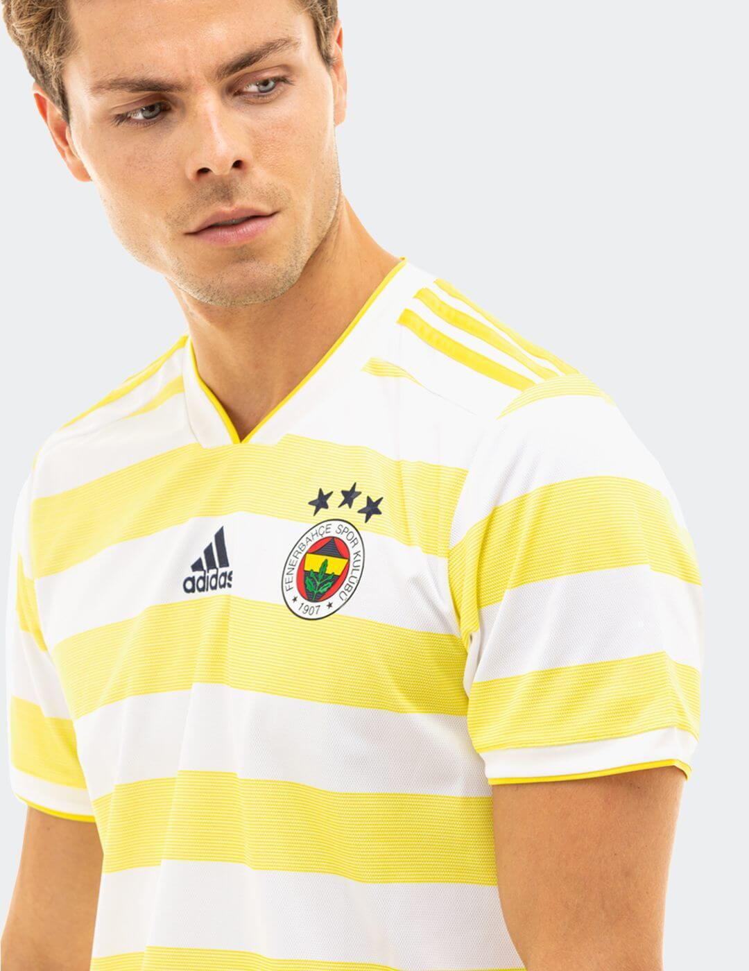Erkek Sarı Beyaz Fenerbahçe 18 Maç Forması