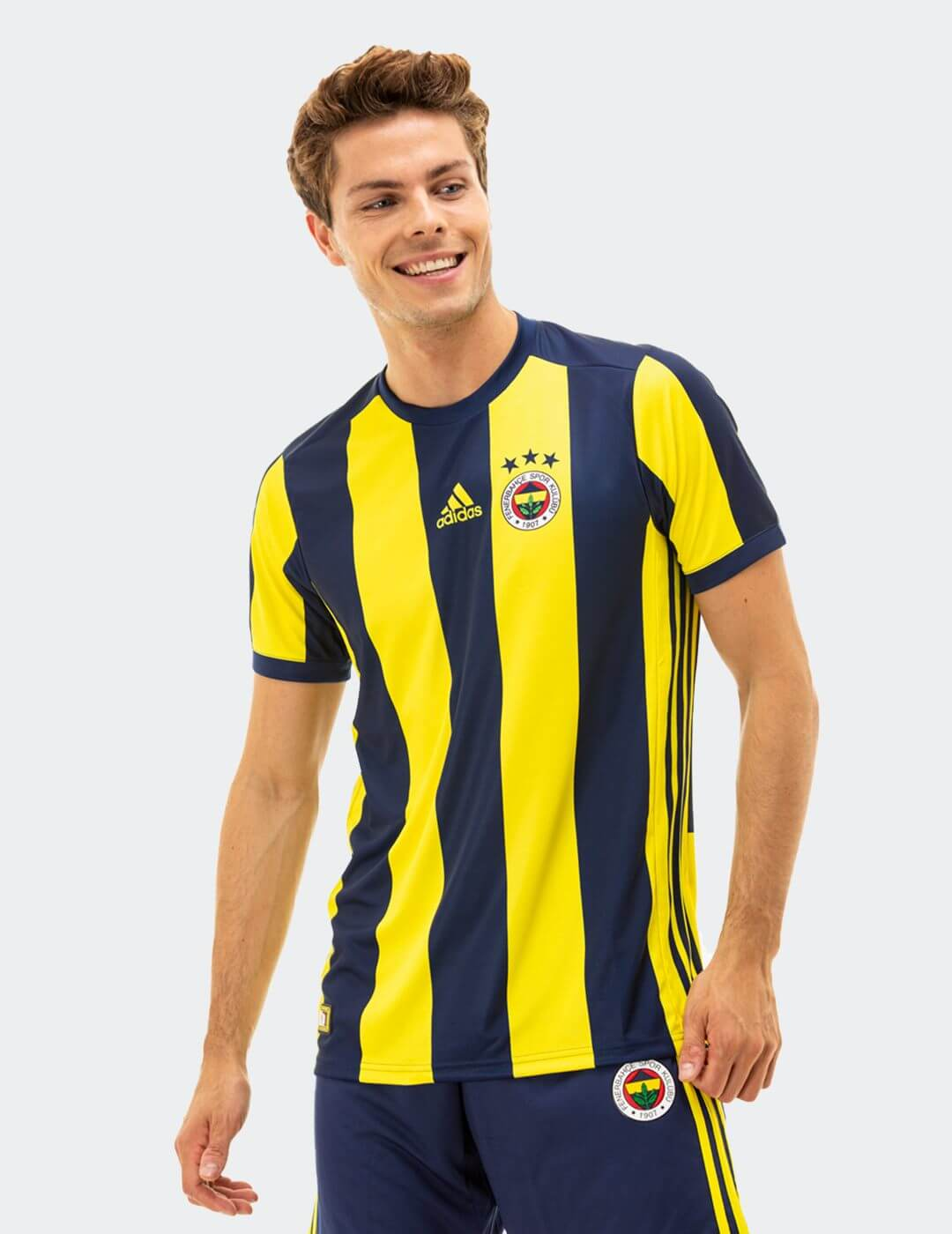 Erkek Çubuklu Fenerbahçe 18 Taraftar Forması
