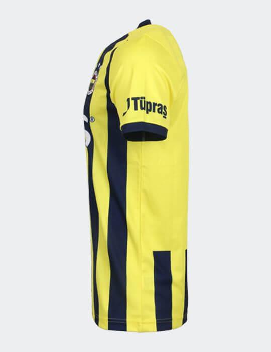 Erkek Sarı Lacivert 2020/21 Çubuklu Taraftar Forması