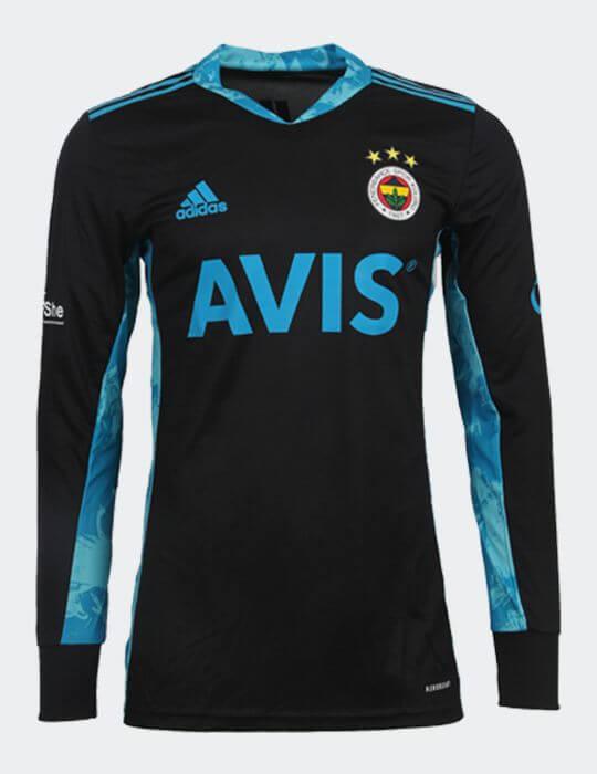 Erkek Siyah Fenerbahçe 2020/21 Fenerbahçe Kaleci Kazağı