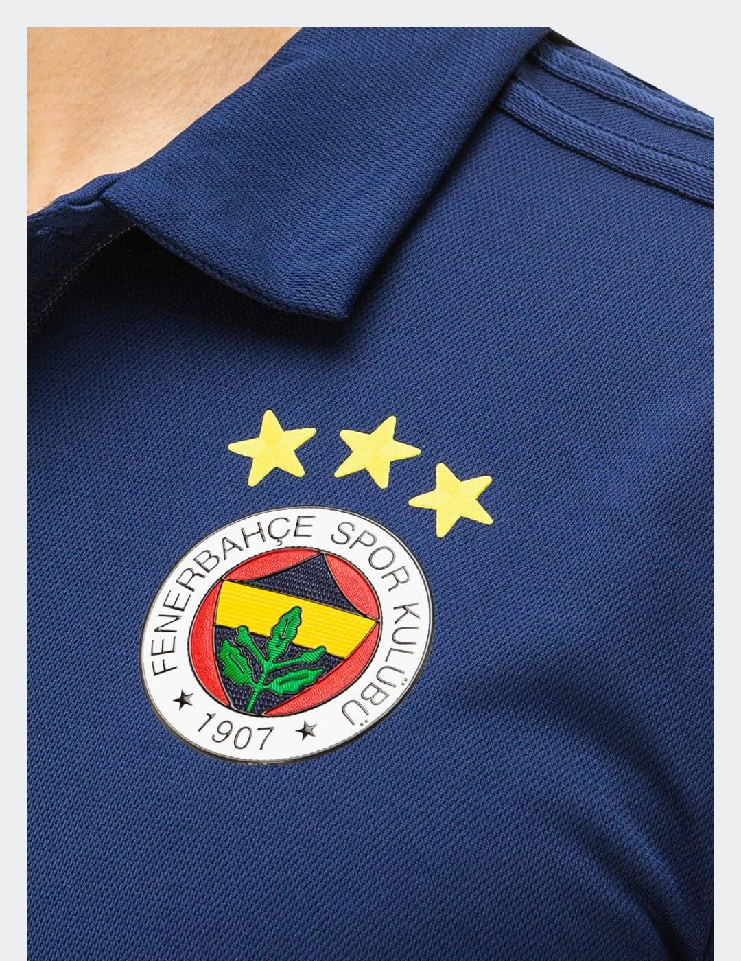 Erkek Lacivert 18/19 Futbolcu Polo T-Shirt