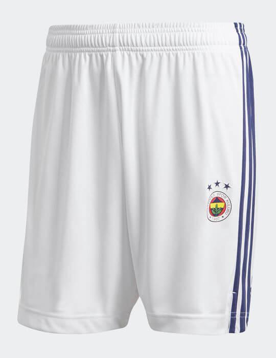 Çocuk Beyaz Lacivert Fenerbahçe 2020/21 Jr Maç Şort