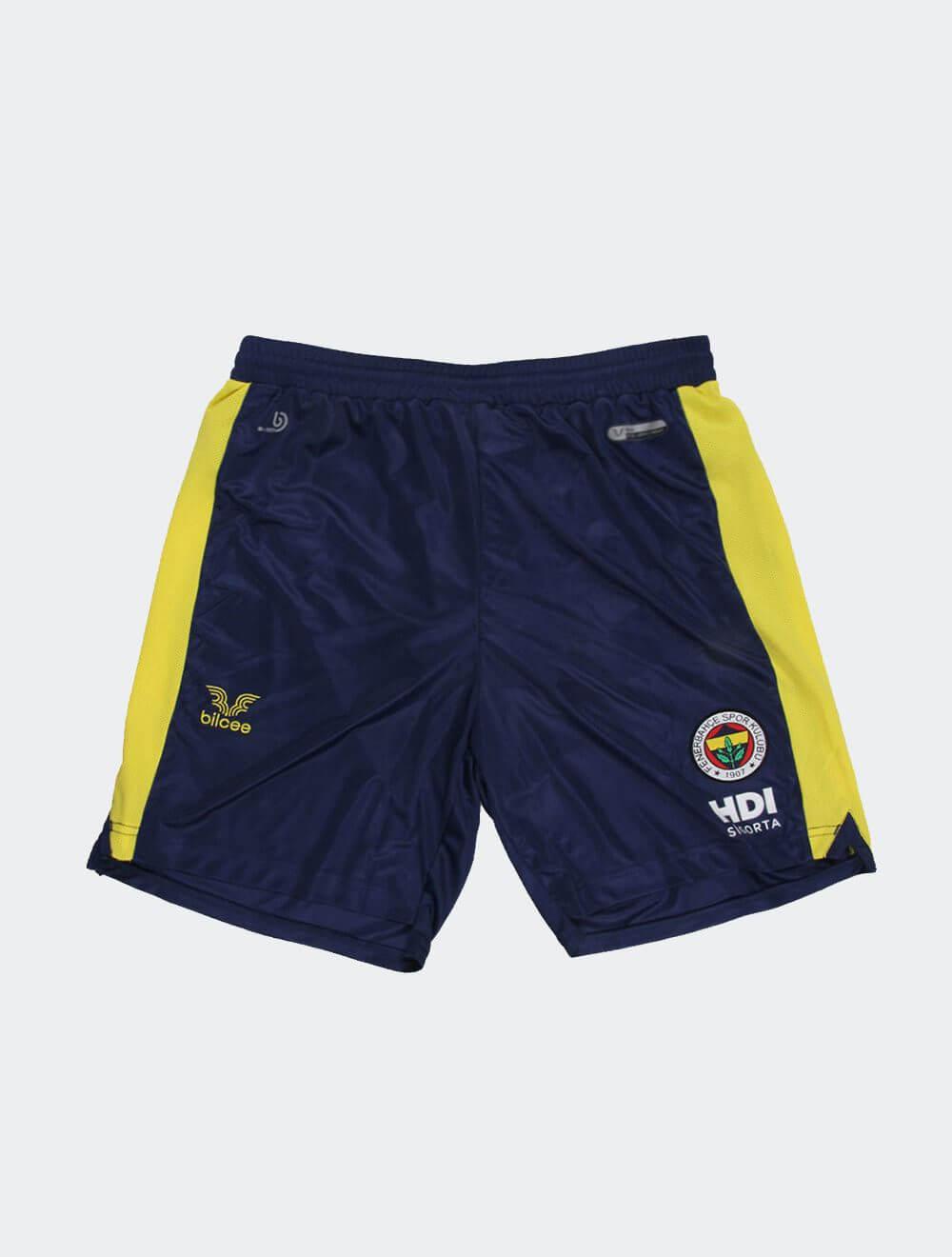 Erkek Lacivert Fenerbahçe Voleybol Maç Şort