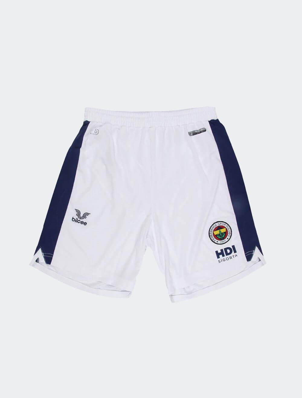 Erkek Beyaz Fenerbahçe Voleybol Maç Şort
