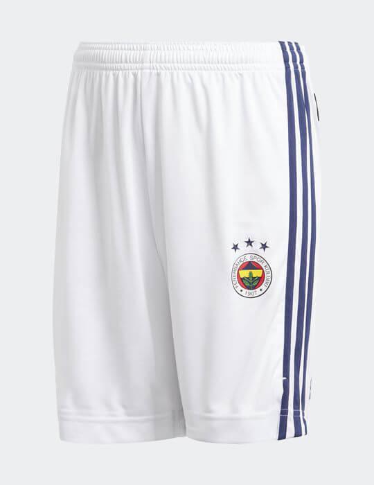 Erkek Beyaz Lacivert Fenerbahçe 2020/21 Maç Şort