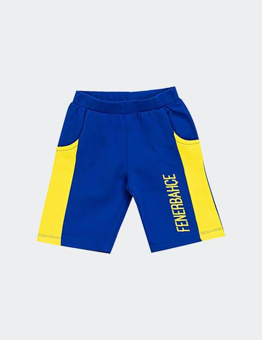 Bebek Mavi Fenerbahçe Şort