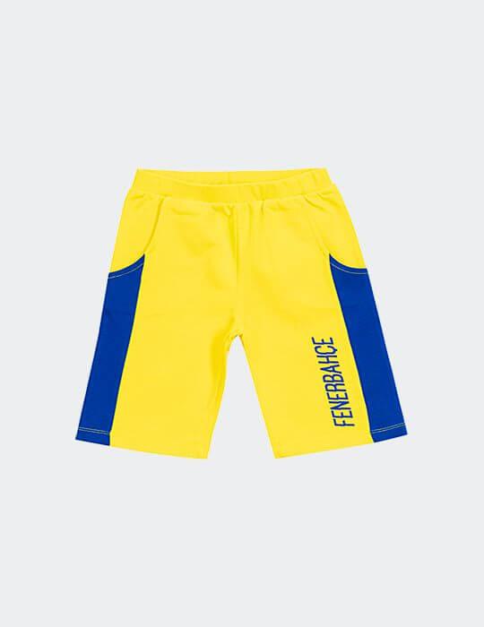 Bebek Sarı Fenerbahçe Şort