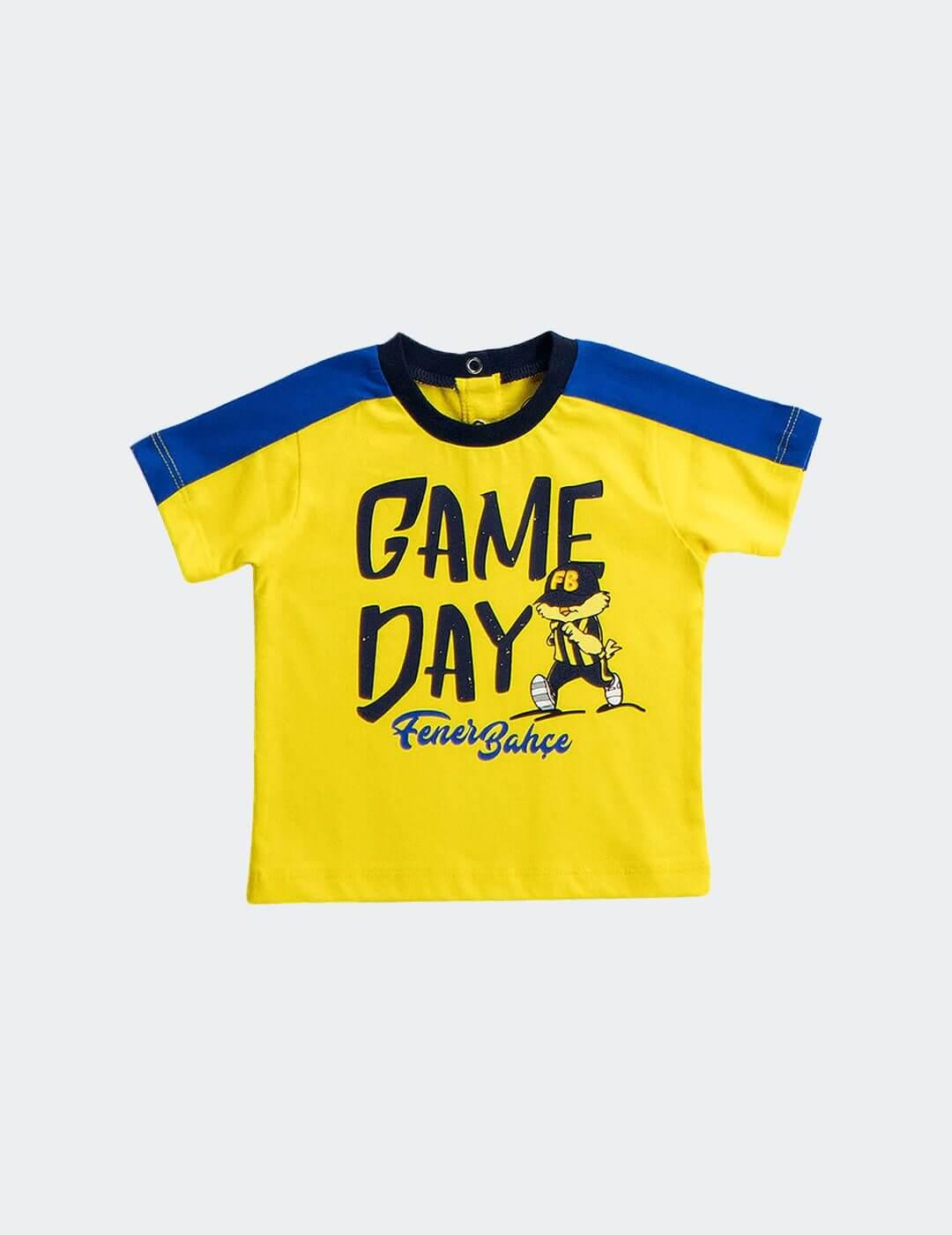 Bebek Sarı Fenerbahçe Game Day T-Shirt