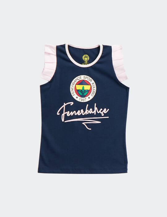 Bebek Lacivert Fenerbahçe Logo T-Shirt
