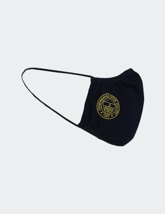 Lacivert Fenerbahçe Çift Logo İnce Maske