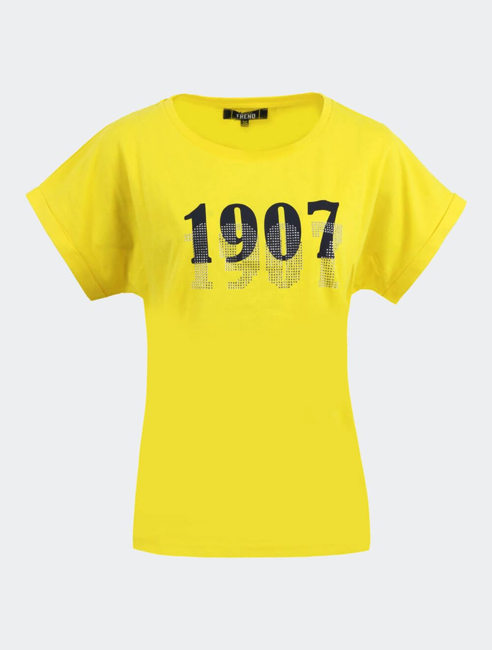 Kadın Sarı Trend 1907 T-Shirt