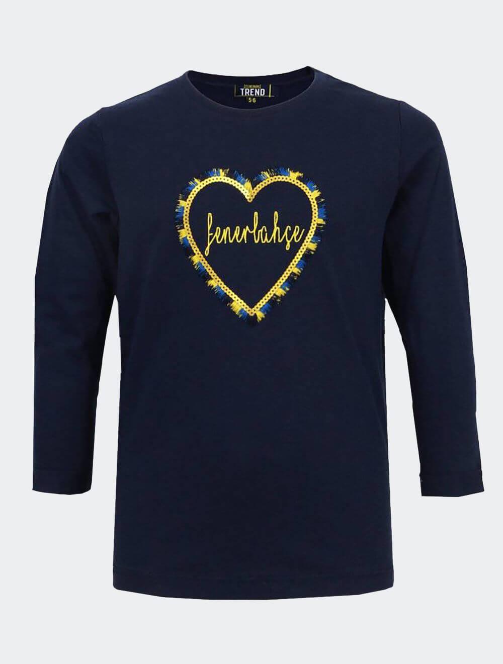 Kız Çocuk Lacivert Bias Lacivert T-Shirt