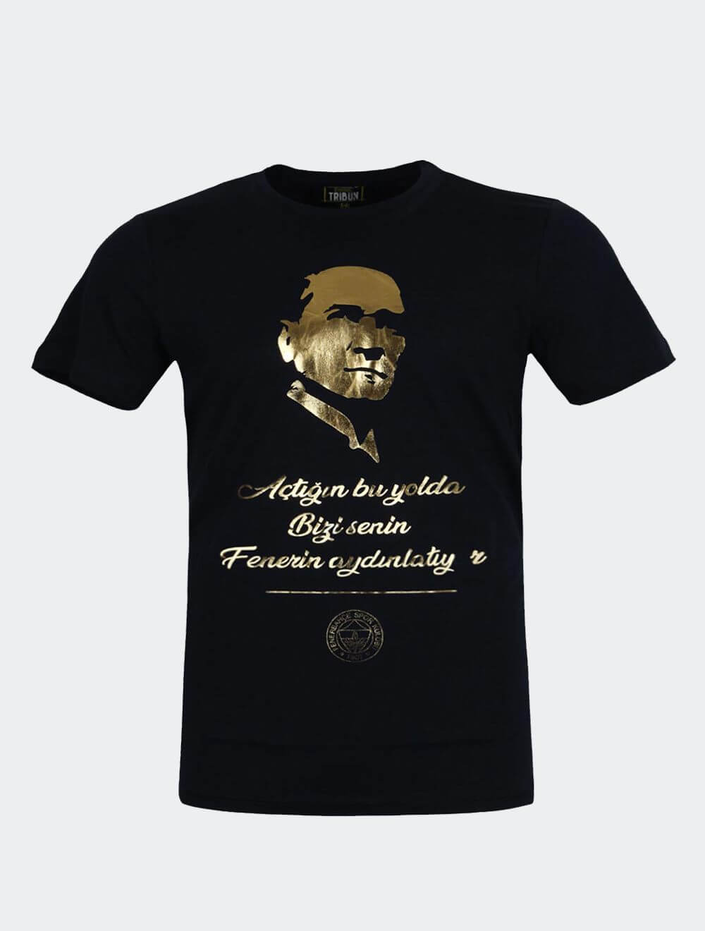 Çocuk Lacivert Ata T-Shirt