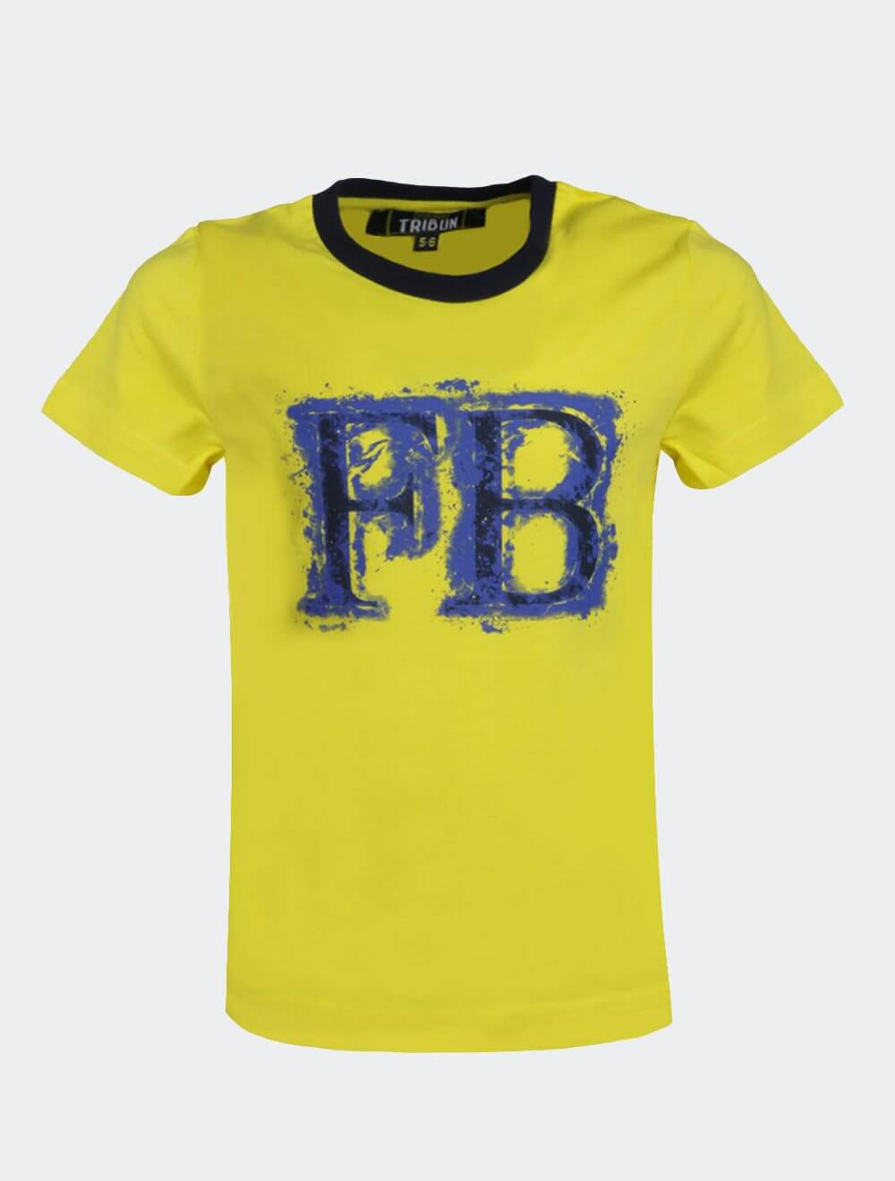 Çocuk Sarı Tribun Fenerbahçe Baskı T-Shirt