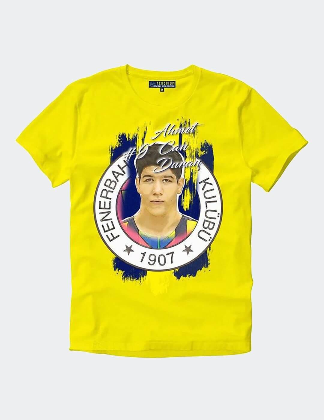 Erkek Can Duran Sarı Tişört
