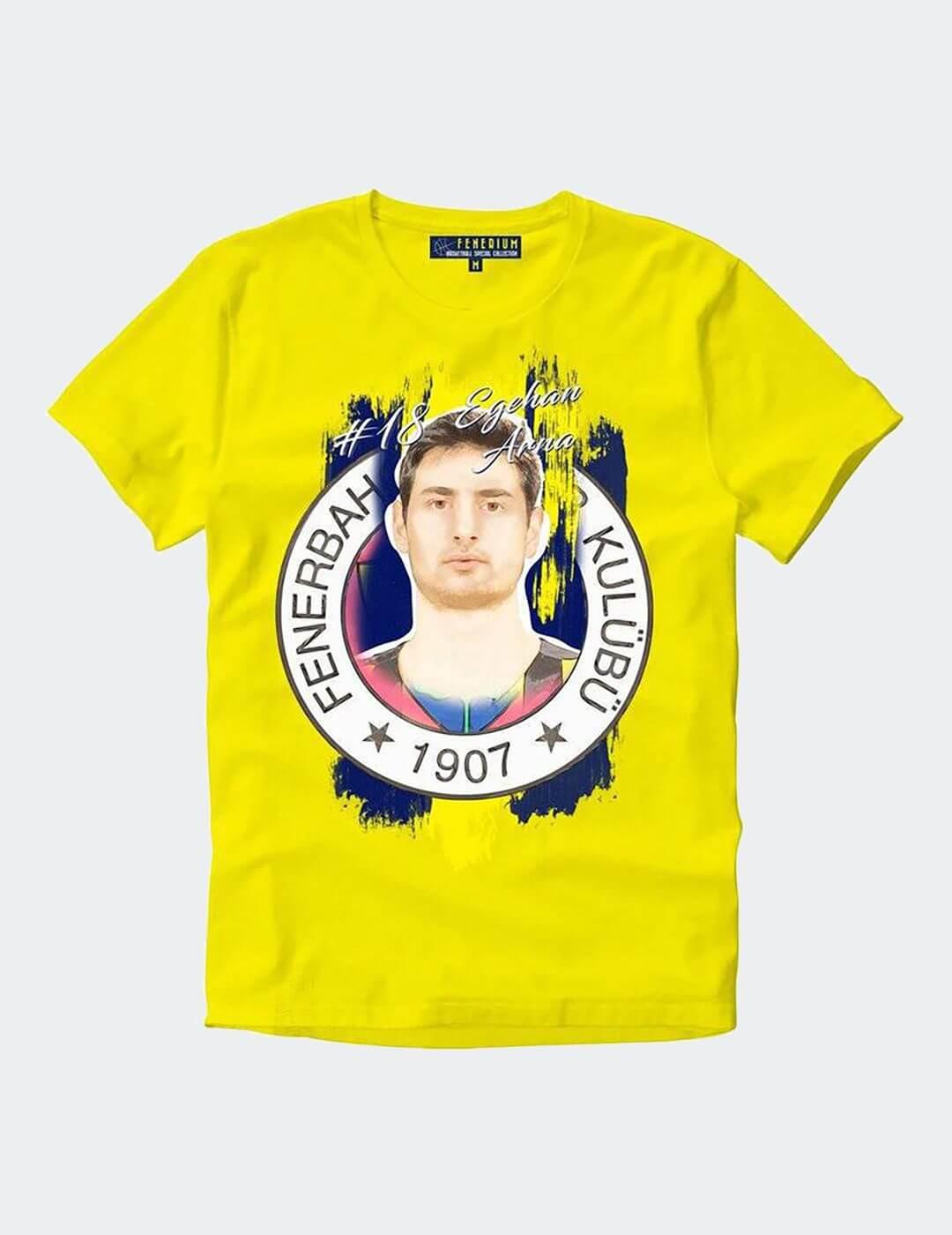 Erkek Arna Sarı Tişört