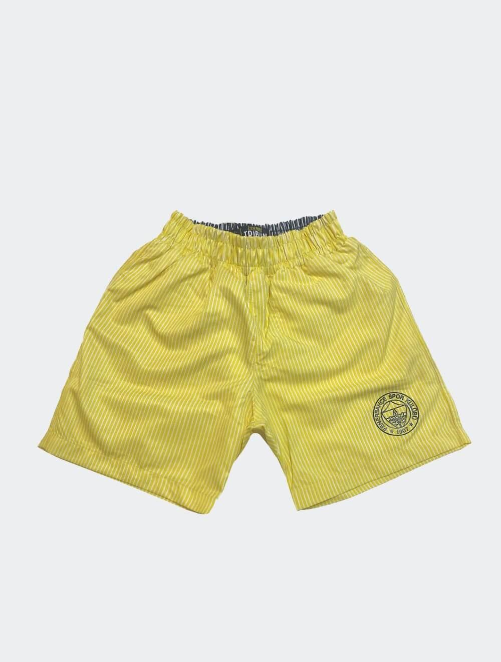 Çocuk Sarı Tribün Fenerbahçe Mayo Şort