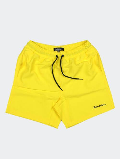 Erkek Sarı Tribün Fenerbahçe Nakış Mayo